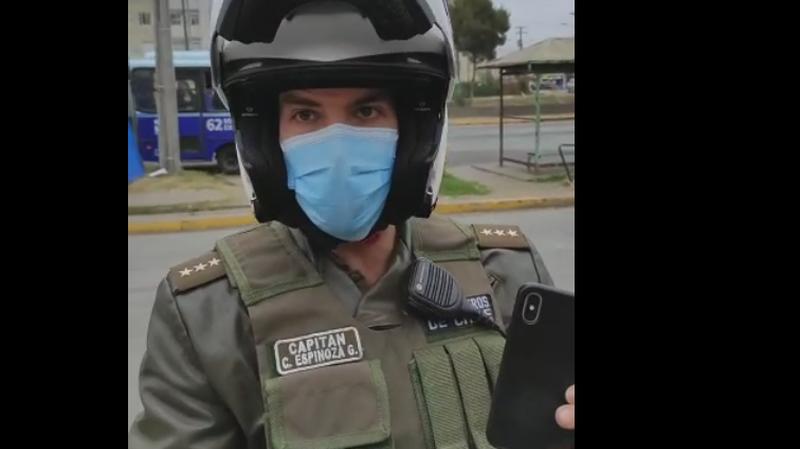 Nueva detención ilegal, reportero de Resumen.cl  fue detenido por cubrir denuncia de violaciones de DDHH