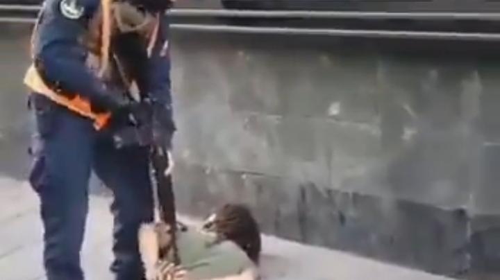 Joven detenido con fusil de Guerra en Valparaiso por no llevar salvoconducto