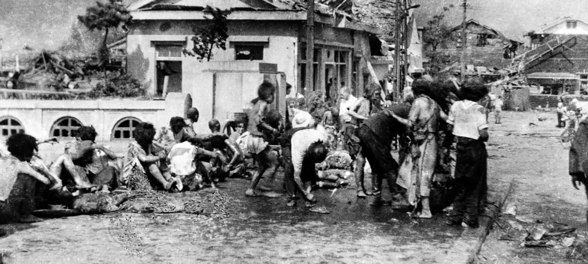 En el aniversario de Hiroshima, Guterres lamenta la lentitud de la desnuclearización