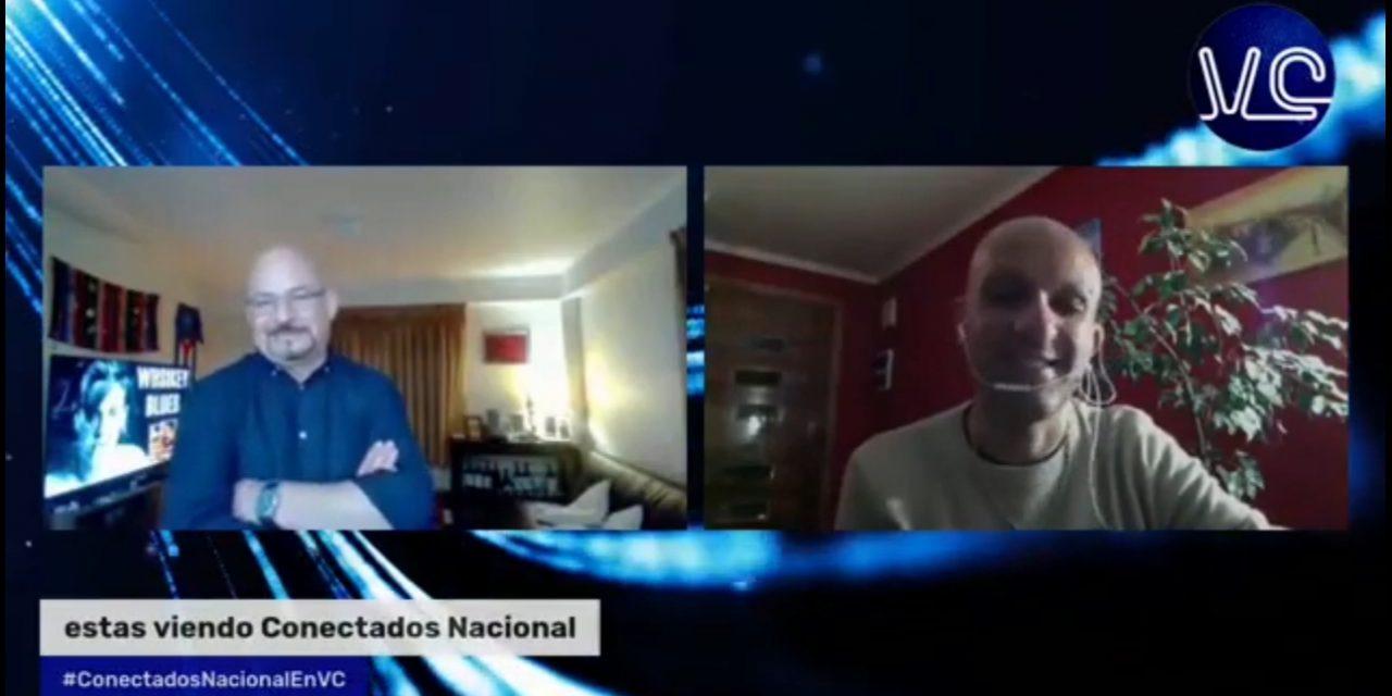 Cuando conversamos<br>con Rodrigo Rojas Vade