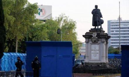 México cambia la estatua de Colón por otra en homenaje a la mujer indígena